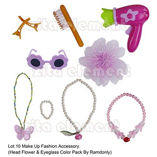 Zita Element Puppe accessory-lot 10 Fashion ausgewählten Fit für 18 inch American Girl Dolls Puppe und 45-46 cm Götz Stehpuppe Götzpuppe