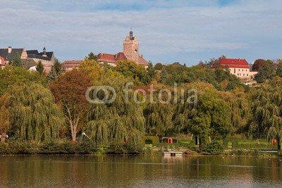 "Alu-Dibond-Bild 140 x 90 cm: ""Burg Allstedt"", Bild auf Alu-Dibond"