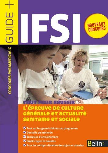 Concours IFSI, l'épreuve écrite d'admissibilité