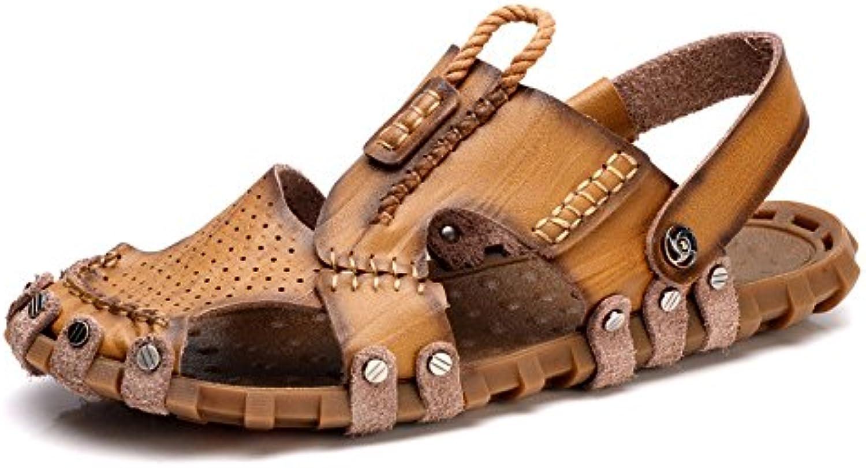 Sandalen Openwork Beach Schuhe Mode Outdoor Freizeitschuhe Khaki 40Sandalen Openwork Outdoor Freizeitschuhe Khaki 40 Billig und erschwinglich Im Verkauf