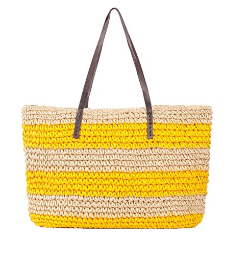 K.B. Barrow ,  Damen Tasche Yellow & Cream
