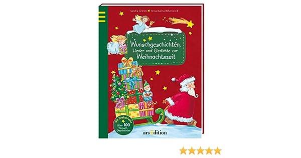 Wunschgeschichten, Lieder und Gedichte zur Weihnachtszeit: Amazon.de ...