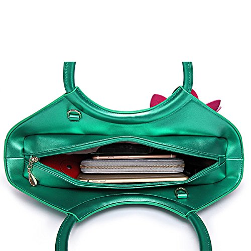 QPALZM QPALZM 2017 Borsa Donna Borsa Nazionale Fiore Diamante Trapano Spalla Messenger Borse Di Moda Pink