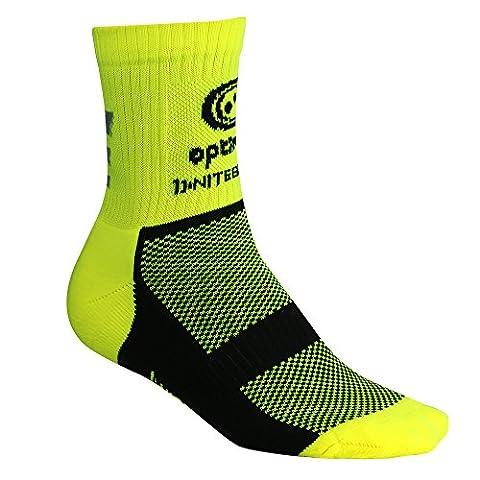 Optimum Nitebrite Hi-Viz Winter Socks - Fluorescent Yellow, Size 7-11