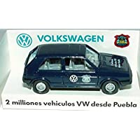 Wiking 1:87 VW Golf II 2türig dunkelblau 2 milliones vehiculos VW desde Puebla Werbemodell