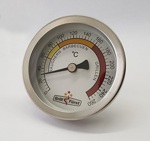 Grillfürst Deckelthermometer - Grill Thermometer Therm260 (Therm 260) - 3
