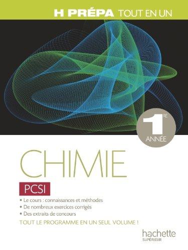 Chimie PCSI - 1ère année - Tout-en-un