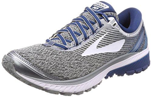 Brooks Ghost 10, Zapatillas de Running Para Hombre, Gris (Silver/Blue/White 1d013), 45.5 EU