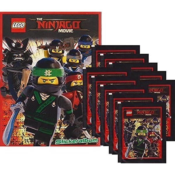 36 Tüten 1 Display Blue Ocean The LEGO Movie 2 Sammelsticker