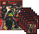 Blue Ocean - LEGO Ninjago Movie - Sammelsticker Serie (1 Album + 10 Tüten)