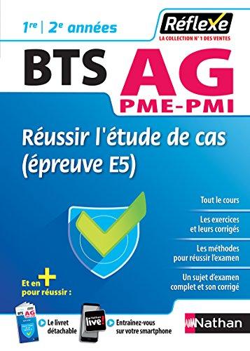Réussir l'étude de cas – BTS Assistant de Gestion PME/PMI par Éric Favro