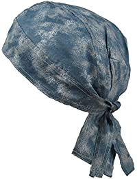Fitted BANDANA Blue Acid Wash