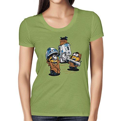 NERDO - Banana Jawas - Damen T-Shirt Kiwi