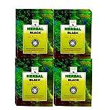 Khadi Mauri Herbal Black Henna, 75g (Pack of 4)
