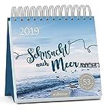 Sehnsucht nach Meer 2019: Postkartenkalender