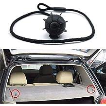 Para Volkswagen Golf 6 GTI R20 Car Hatchback Parcel Estantes de cuerda de sujeción Regard,
