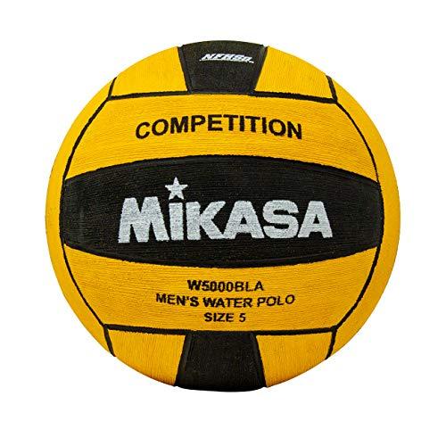 Mikasa w5000bla Wettbewerb Spiel Ball, Größe 5, Schwarz/Gelb