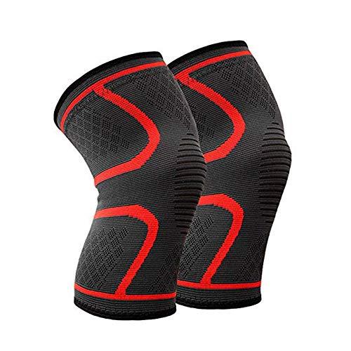 Bliss-damen-lange Hülse (sfycstd Kniepolster Fitness Laufen Radfahren Knie Unterstützung Hosenträger Elastische Nylon Sport Compression Kniepolster Hülse für Basketball Volleyball 1 para)