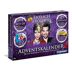 Clementoni 59084 Advent Calendar The Magic – More Colours