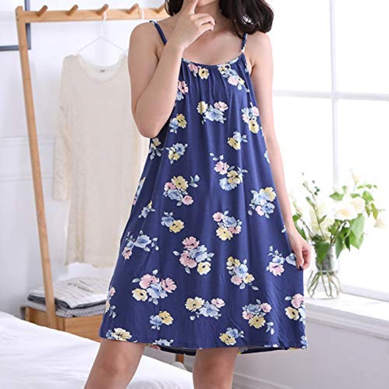 Camicia da notte carina Sling stampa camicia femminile da notte femminile  camicia estate pigiama sexy servizio a domicilio di grandi. fe95d32e6af