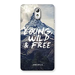 Young Wild and Free Back Case Cover for Lenovo Vibe P1M