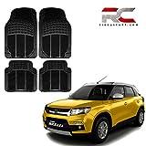 #4: Riderscart Car Mat for Maruti Suzuki Vitara Brezza Car Foot 2D Mats Heavy Duty Rubber Floor Car Mats