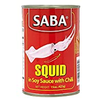 Saba Squid In Soy Sauce With chili - 425 gm