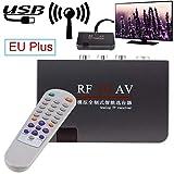 TianranRT - Ricevitore analogico RF AV Video Box Converter Adapter + telecomando AV cavo di controllo
