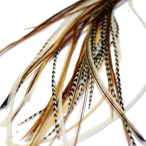 One Fine Day Feathers Haarverlängerung, 5 Federn,