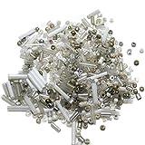Beadsnfashion Seed Bugles Beads White As...