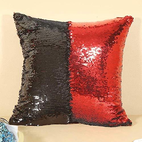 LXHDKDT DIY Lentejuelas Funda cojín Throw Pillowcase