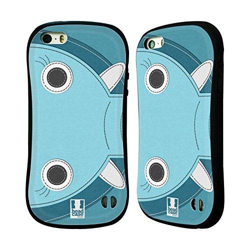 Head Case Designs Hippopotame Animaux - Tache Serie 2 Étui Coque Hybride pour Apple iPhone 6 / 6s Éléphant