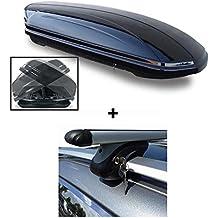 skibox VDP maa580Duo RELING portatutto in alluminio 580litri VW Golf Plus 05–1475kg con serratura