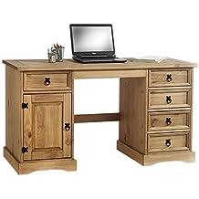 Rustikaler Schreibtisch suchergebnis auf amazon de für schreibtisch rustikal bürobedarf