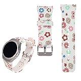 Für Samsung Gear S2 SM-R720 / R730 Ersatz Uhrenarmband - iFeeker Zubehör Soft Silikon Buntes Sport Armband Gemeinsamer Design für Samsung Galaxy Gear S2 SM-720 / SM-730 Smart Watch
