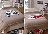 Used, King Cole Home Camper Van Bed Throws Knitting Pattern for sale  Delivered anywhere in UK