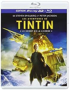 Les Aventures de Tintin : Le Secret de la Licorne - Blu-ray 3D active + Blu-ray standard [Combo Blu-ray 3D + Blu-ray 2D]