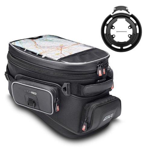 5 Pc-gepäck-set (Givi Tankrucksack Set XS308 + Tanklock-System Ring bf05 Yamaha MT-01 05-12)