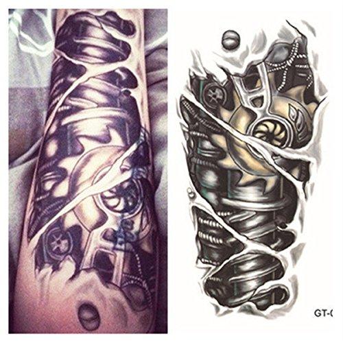 lzc-105x21cm-temporary-tattoo-shoulder-arm-stickers-waterproof-fashion-party-body-art-man-woman-mech