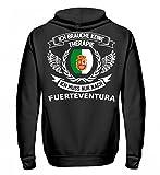 Fuerteventura Flagge Kühlschrankmagnet Geschenk Magnet Auto Fußmatte Aufkleber Anhänger Fahrrad Shirt T-Shirt Pullover Hoodie SWE - Unisex Kapuzenpullover Hoodie