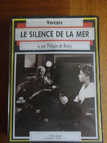 Le Silence de la mer (cassette audio) Pdf - ePub - Audiolivre Telecharger
