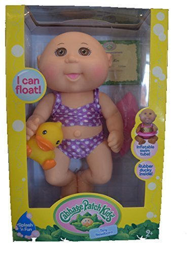 cabbage-patch-kids-tiny-newborn-splash-and-fun-caucasian-girl-doll-brown-eyes-by-wicked-cool-toys