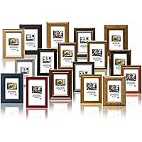 Set Regalo - Set di pezzi 10 Solide Cornici in Legno per Foto - 13x18 cm. I vari colori e stili, con Plexi. Il prezzo all'ingrosso per gli stock rimanenti!