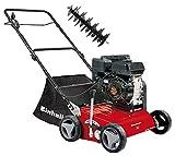 Einhell 3420020 GC-SC 2240 P Benzin-Vertikutierer 2.2 W, Schwarz, Rot