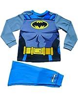 Fancy Dress Batman Pjs 2 to 8 Years Batman Pyjamas Cape