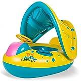 Best Bébé de natation Flotteurs - Qile Bateau Gonflable bébé flotteur Anneau de natation Review