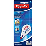 Tipp-Ex 8128704 Mini Pocket Mouse Korrekturroller, Weiß, Band: 6m x 5mm, 1er Pack