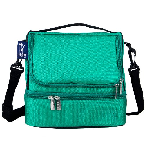 wildkin-emerald-green-double-decker-lunch-bag