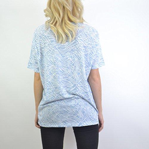 Nike Tee AOP BC-Palm-T-Shirt femme MULTICOLORE (BLUE GREY/BLUE GREY/OBSIDIAN)