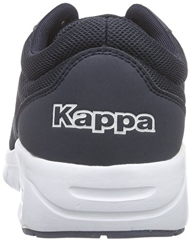 Kappa Melo Footwear Unisex, Mesh/Synthetic, Baskets Basses mixte adulte Bleu - Blau (6710 navy/white)